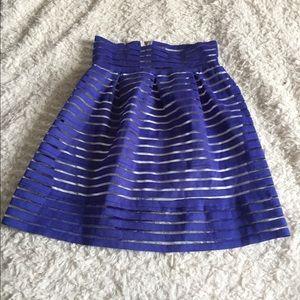 Dresses & Skirts - Blue preppy skirt